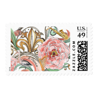 New Orleans Wedding Stamp
