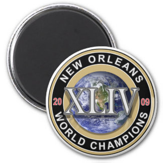 NEW ORLEANS - World Champions 2009 Refrigerator Magnets