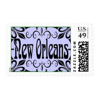 New Orleans Wrought Iron Postage