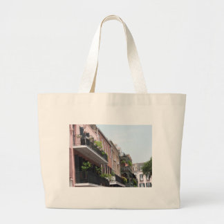 New Orleasn French Quarter Large Tote Bag