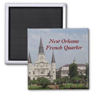 New Orleasn French Quarter Refrigerator Magnets