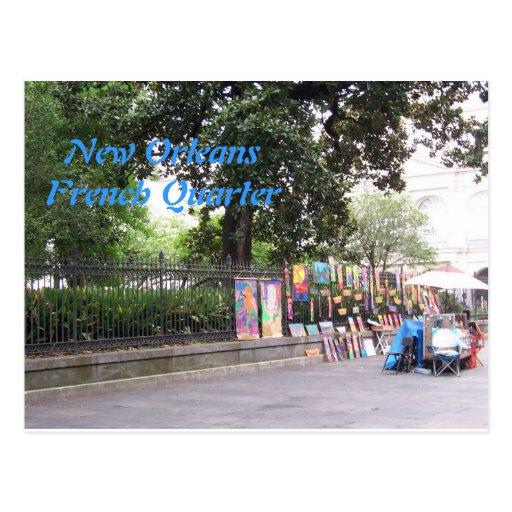 New Orleasn French Quarter Post Card