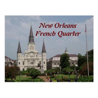 New Orleasn French Quarter Postcard