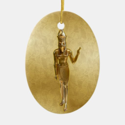 NEW-Osiris - Yule - 2NBG Double-Sided Oval Ceramic Christmas Ornament