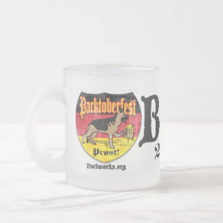 New Packtoberfest 2011 Frosted Glass Coffee Mug