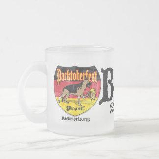 New Packtoberfest 2011 Frosted Glass Coffee Mug