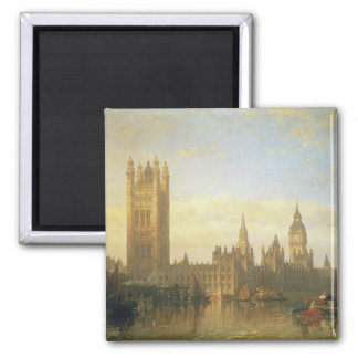 New Palace of Westminster from the River Thames Magnets