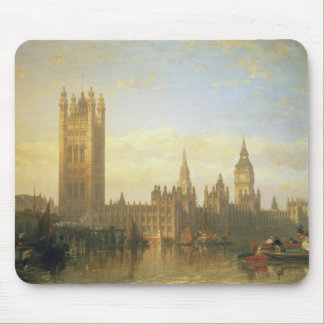 New Palace of Westminster from the River Thames Mouse Pad