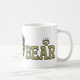 New Papa Bear Father's Day Gear Classic White Coffee Mug