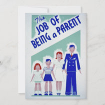 New Parent Holiday Card