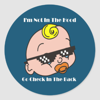 New Parents Gifts Classic Round Sticker