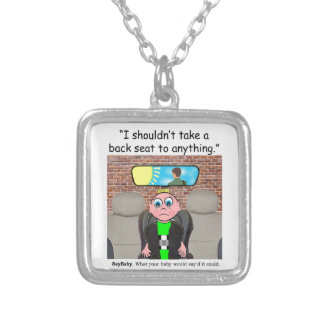 New Parents Gifts Silver Plated Necklace