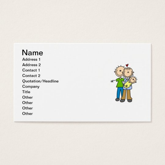 New Parents New Baby T-shirts and Gifts Business Card