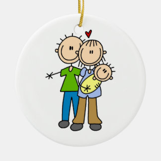 New Parents New Baby T-shirts and Gifts Christmas Ornaments