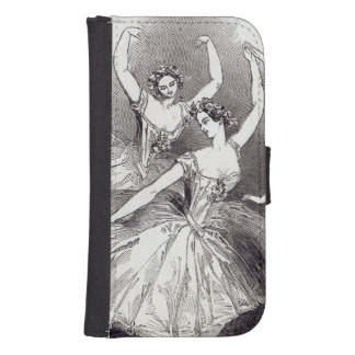 New Pas de Quatre, by Mdlles Samsung S4 Wallet Case