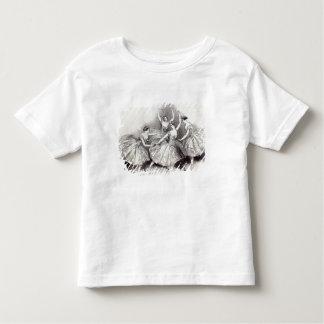 New Pas de Quatre, by Mdlles Toddler T-shirt