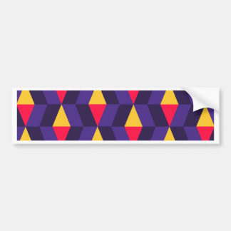 new pattern fine.png bumper sticker