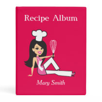 New Personalized Mini Recipe Binder