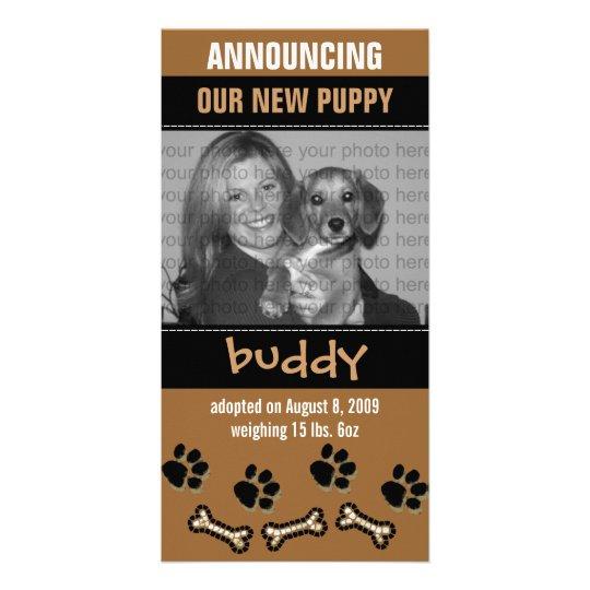 New Pet Adoption Announcement