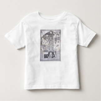 New Plan of the Town, Castle and Gardens at Versai Toddler T-shirt