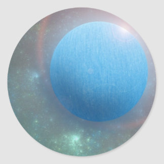 New Planet for the Underground Classic Round Sticker