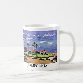 New Point Loma Lighthouse, California Mug