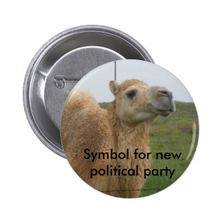 New Political Party 2 Inch Round Button