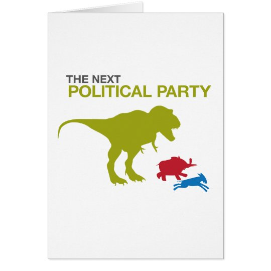 New Political Party Card