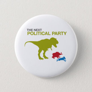 New Political Party Pinback Button