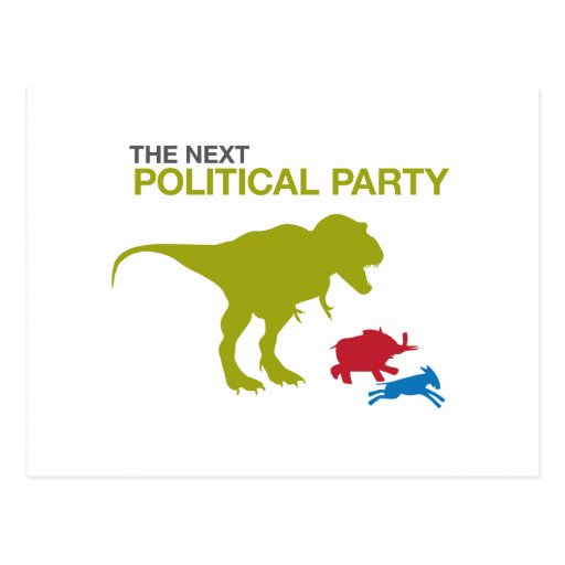 New Political Party Postcards