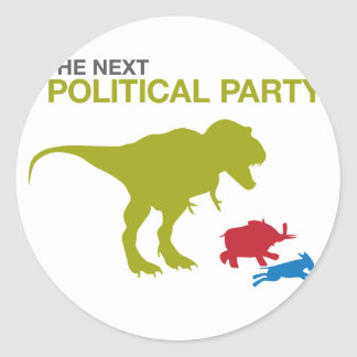 New Political Party Sticker