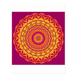 New Pop Art Priscilla Kaleidoscope Postcard