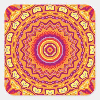 New Pop Art Priscilla Kaleidoscope Square Sticker