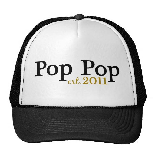 New Pop Pop est 2011 Trucker Hat