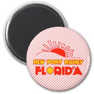 New Port Richey, Florida 2 Inch Round Magnet