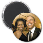 NEW Power Couple of the United States 2 Inch Round Magnet