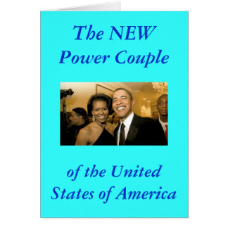 NEW Power Couple of the United States Card