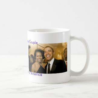 NEW Power Couple of the United States Coffee Mug