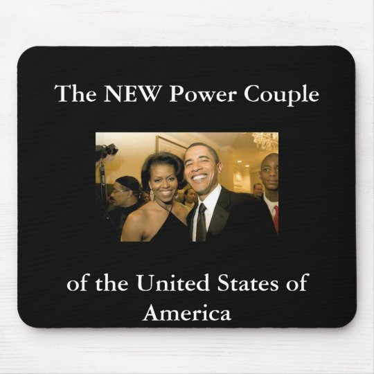 NEW Power Couple of the United States Mouse Pad