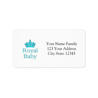 New Prince - a royal baby! Label