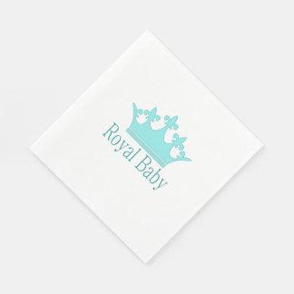 New Prince - A Royal Baby! Napkin