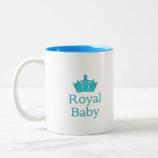 New Prince - a royal baby! Two-Tone Coffee Mug