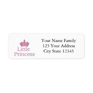 New Princess - a Royal Baby! Label
