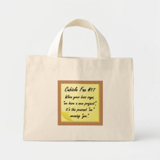 New Project Mini Tote Bag
