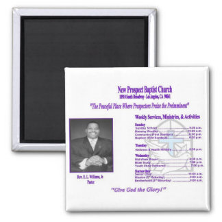 New Prospect Baptist Church Magnet