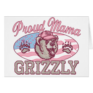 New Proud Mama Grizzly Cards