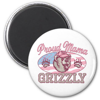 New Proud Mama Grizzly Magnet