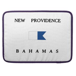 New Providence Bahamas Alpha Dive Flag MacBook Pro Sleeve