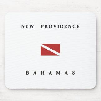 New Providence Bahamas Scuba Dive Flag Mouse Pad