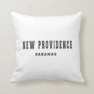 New Providence Bahamas Throw Pillow